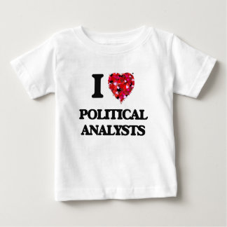 Liebe I politische Analytiker Hemden
