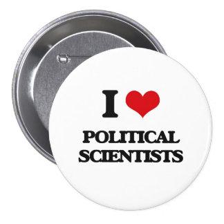 Liebe I politische Wissenschaftler Anstecknadel