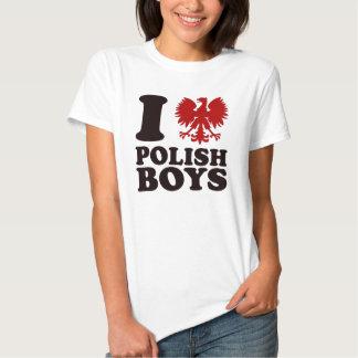 Liebe I polnische Jungen Shirt