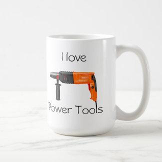Liebe I Power-Werkzeuge Kaffeetasse