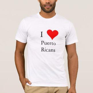 Liebe I Puertorikaner T-Shirt