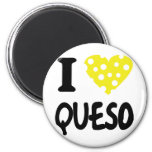 Liebe I queso Ikone Runder Magnet 5,7 Cm