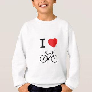 Liebe I Radfahren Sweatshirt