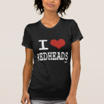 Liebe I Redheads Shirt