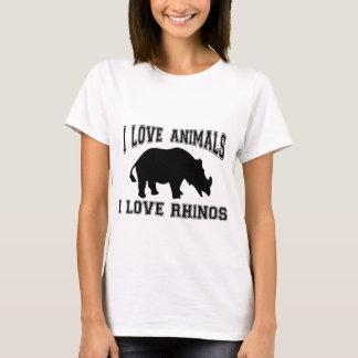 Liebe I Rhinos T-Shirt