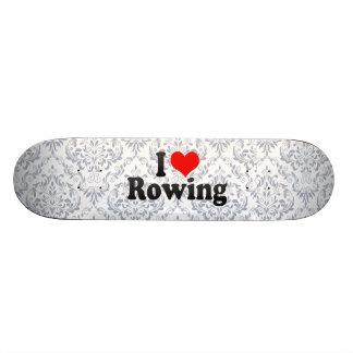 Liebe I Rudern Personalisiertes Skateboarddeck