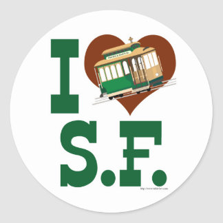 Liebe I San Francisco Drahtseilbahnen
