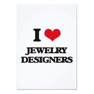 Liebe I Schmuck-Designer Personalisierte Einladungen