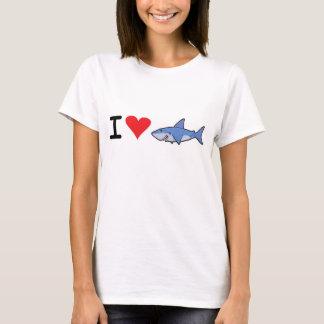 Liebe I shaaark T-Shirt