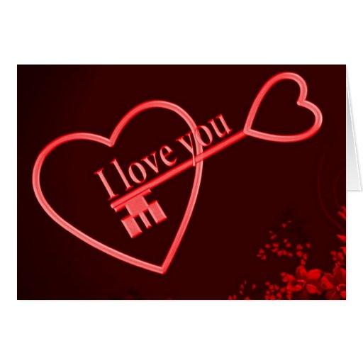 Liebe I Sie Karten