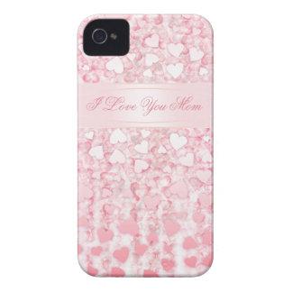 Liebe I Sie Mamma rosa BlackBerry-Kasten iPhone 4 Case-Mate Hüllen