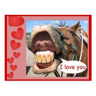 Liebe I Sie Postkarte