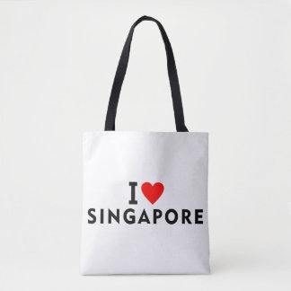 Liebe I Singapur-Land wie Herzreisetourismus Tasche