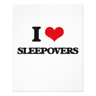 Liebe I Sleepovers 11,4 X 14,2 Cm Flyer