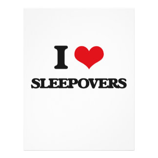 Liebe I Sleepovers 21,6 X 27,9 Cm Flyer