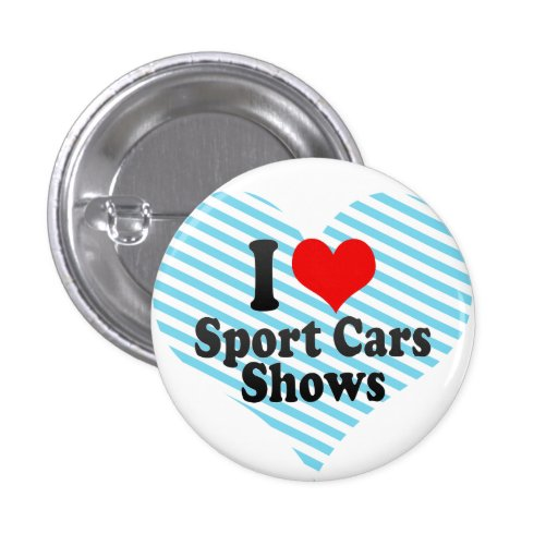 Liebe I Sport-Auto-Shows Buttons