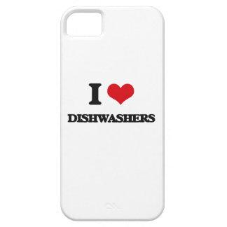 Liebe I Spülmaschinen iPhone 5 Schutzhülle