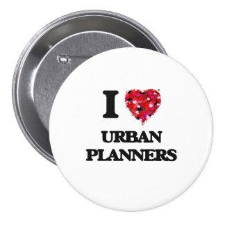 Liebe I städtische Planer Runder Button 7,6 Cm