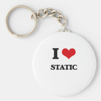 Liebe I Static Schlüsselanhänger