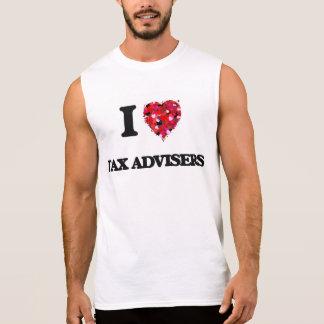 Liebe I Steuer-Berater Ärmelloses Shirt