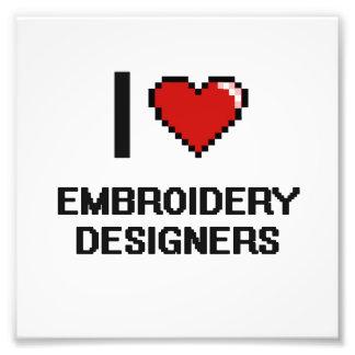 Liebe I Stickerei-Designer Photo