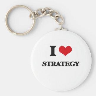 Liebe I Strategie Schlüsselanhänger