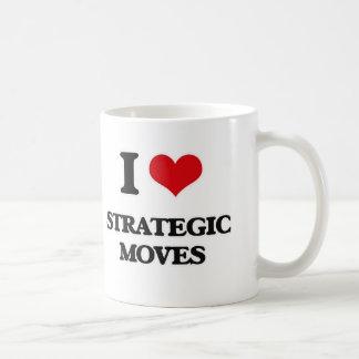 Liebe I strategische Bewegungen Kaffeetasse