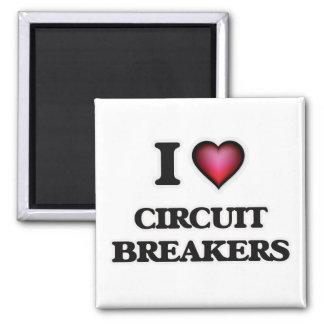 Liebe I Stromunterbrecher Quadratischer Magnet