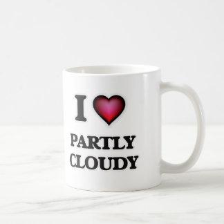 Liebe I teils bewölkt Kaffeetasse