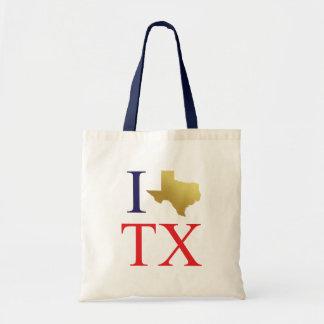 Liebe I Texas-Taschentasche Tragetasche