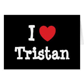 Liebe I Tristan Herzgewohnheit personalisiert Karte