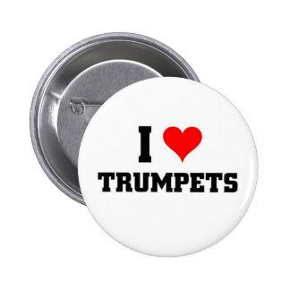 Liebe I Trompeten Runder Button 5,1 Cm