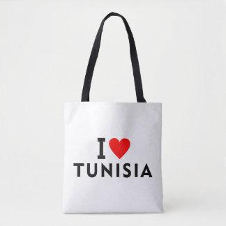 Liebe I Tunesien-Land wie Herzreisetourismus Tasche