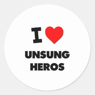 Liebe I unbesungene Helder Stickers