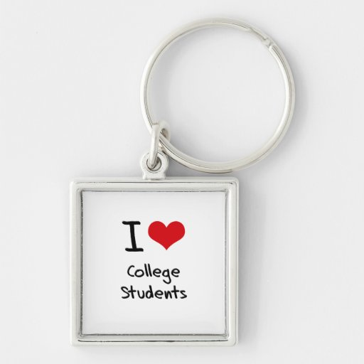Liebe I Uni-Studenten Schlüsselbänder