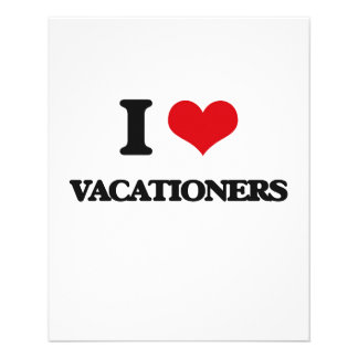 Liebe I Vacationers 11,4 X 14,2 Cm Flyer