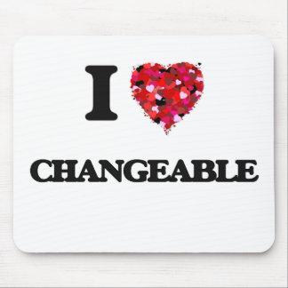 Liebe I veränderbar Mauspads