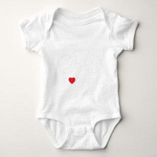 Liebe I Verlegenheiten Baby Strampler