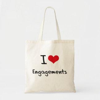 Liebe I Verlobungen Budget Stoffbeutel