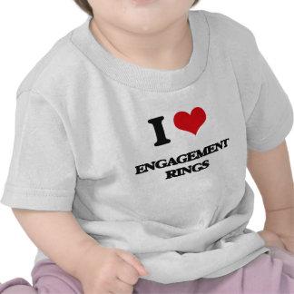 Liebe I VERLOBUNGS-RINGE T-Shirts