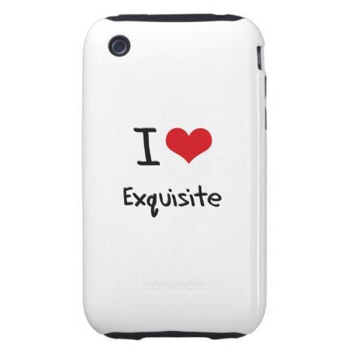 Liebe I vorzüglich Tough iPhone 3 Cover