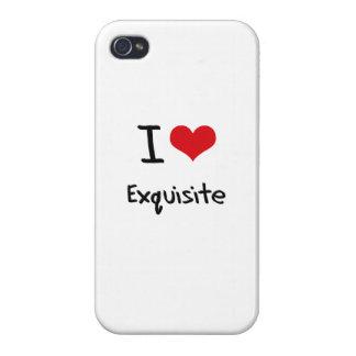 Liebe I vorzüglich iPhone 4 Hüllen