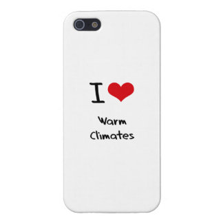 Liebe I warme Klimata iPhone 5 Case