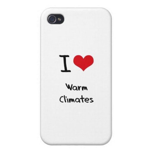 Liebe I warme Klimata iPhone 4/4S Cover