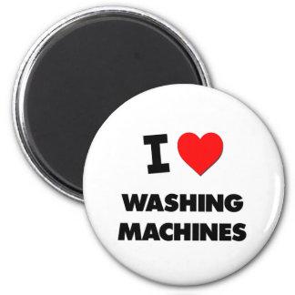 Liebe I Waschmaschinen Runder Magnet 5,7 Cm