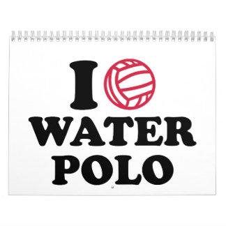 Liebe I Wasserpolo Wandkalender