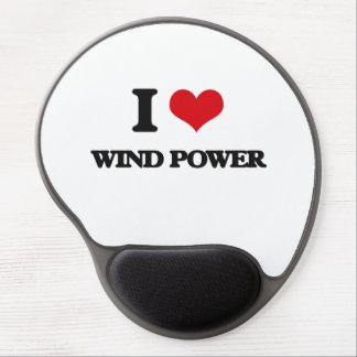 Liebe I Wind-Power Gel Mousepads