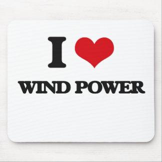 Liebe I Wind-Power Mousepad