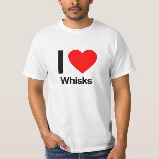 Liebe I wischt T-Shirt