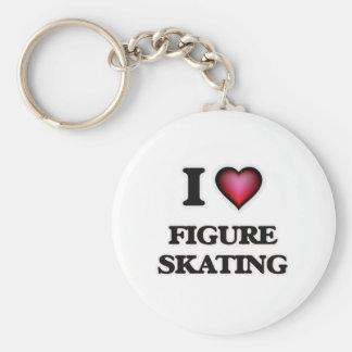 Liebe I Zahl Skaten Schlüsselanhänger